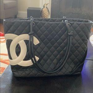 Authentic Chanel Cambon Tote